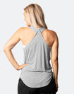 ** CLEARANCE ** Breastfeeding Top - Rise Up Tank Grey Marle
