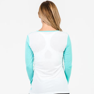 Clearance - Bamboo Long Sleeve Top Mint
