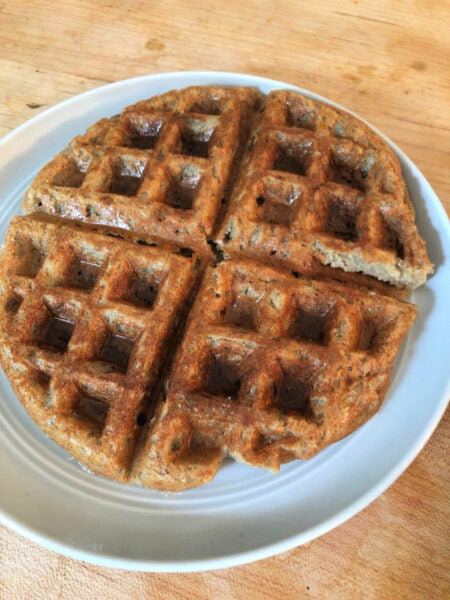 My Wife's Chaga Waffles (Unsweetened)