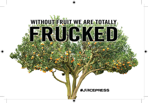 Without fruit we are frucked