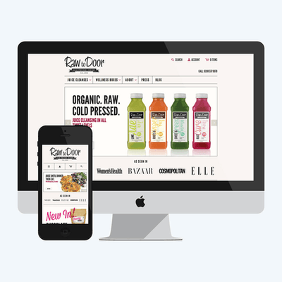 "Shopify e-commerce website ""Basic"" package"
