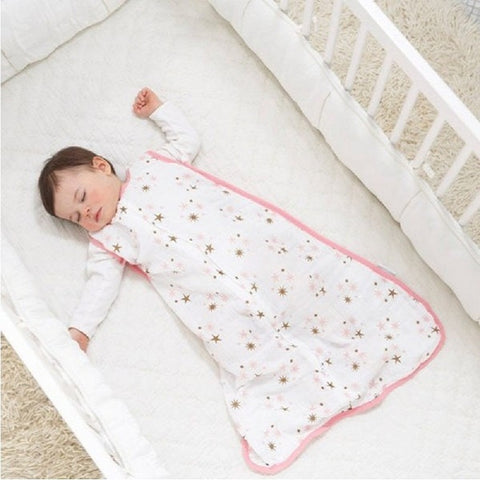 100% Muslin Cotton Baby Thin Slumber Sleeping Bag Mod For Summer bedding Baby - Saving World Store