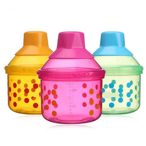 High Quanlity New Portable Baby Infant Feeding Milk Powder &Food Bottle Container 1 Cells Grid Box M&B1112 - Saving World Store