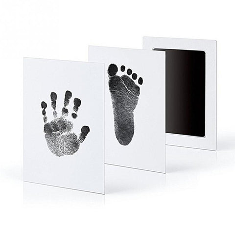 Baby Inkless Safe Clean-Touch Handprint and Footprint Ink Pads 100% Non-Toxic & Mess Footprint Ink Pad - Saving World Store