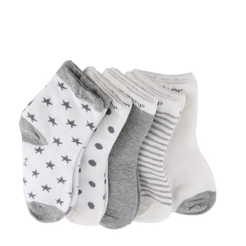 Autumn Winter Hot 5Pairs Baby Kids Cute Cartoon Socks Newborn Infant Toddler Soft Cotton - Saving World Store