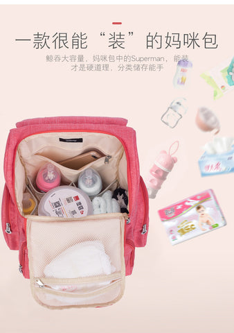 Mickey Minnie Baby Diaper Bags Bolso Maternal Stroller Bag Nappy Backpack Maternity Bag  Mommy Bag - Saving World Store