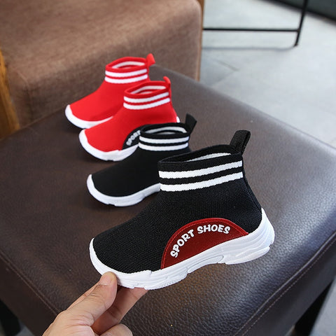 Comfortable baby boots high quality cool girls boys sneakers lovely solid infant tennis footwear cute baby casual shoes - Saving World Store