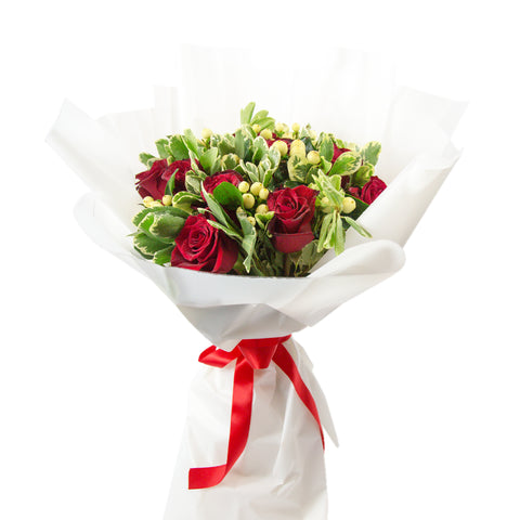 Red Theme  Bouquet