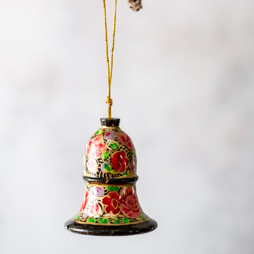 Russian Floral Hanging Bell