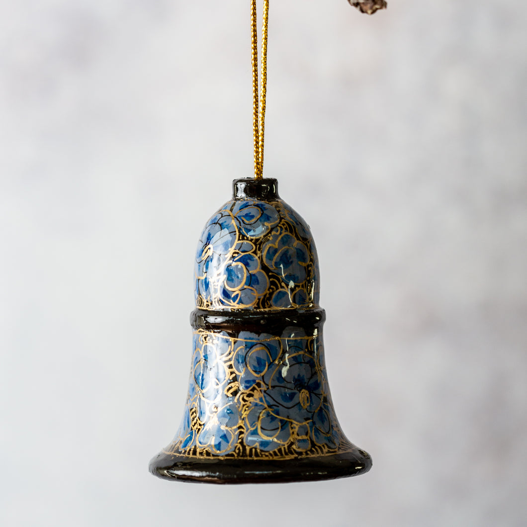 Indian Floral 8 Hanging Bell