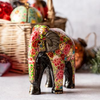 Russian Floral Giant Elephant