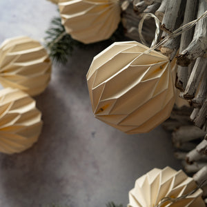 Sphere Lantern Paper String Lights