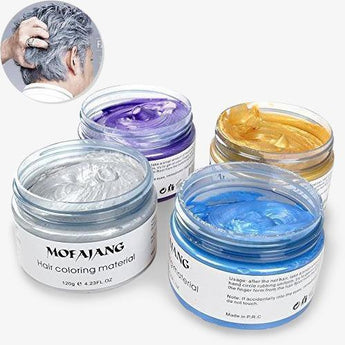Hair Dye Color Wax