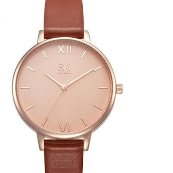 THIN CASUAL STRAP WATCH