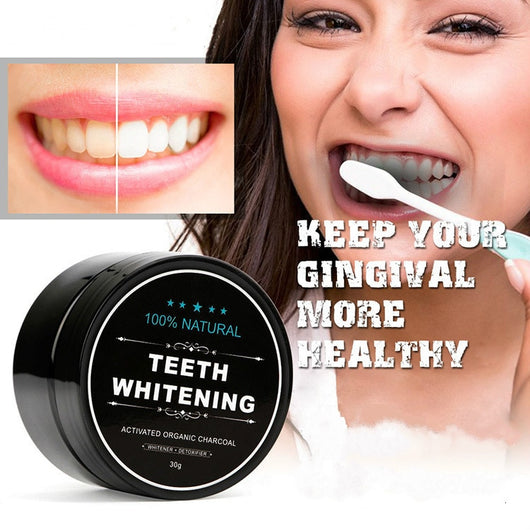 1-Pack Activated Charcoal Teeth Whitening Powder