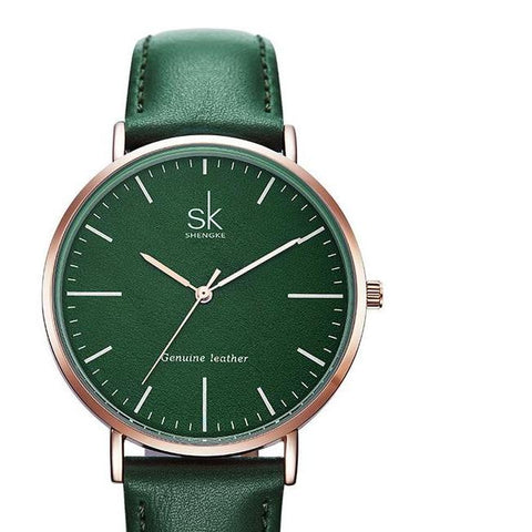 VEGAN LEATHER WATCH