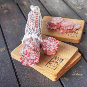 Dry Cured Salami With Belgian Style Quad Ale