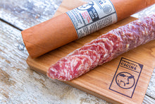 Load image into Gallery viewer, Trufa Seca Trio — Dry Cured Black Truffle Salami — 5 Pieces, Best Value!