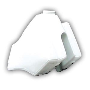 Clarke Mfg Fuel Tank Yamaha TT600 (all) Stock Capacity, White, 11330-02