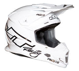 JT RACING USA ALS 1.0 Helmet, White