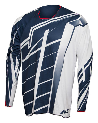 JT Racing USA-2017 Hyperlite Breaker Jersey, Navy/White/Red