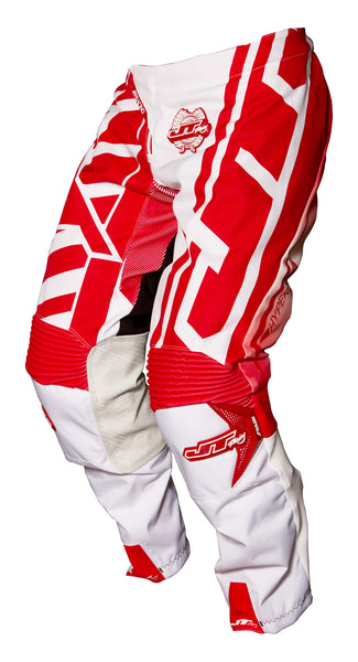 JT RACING USA  Hyperlite Breaker Pants, Red/White