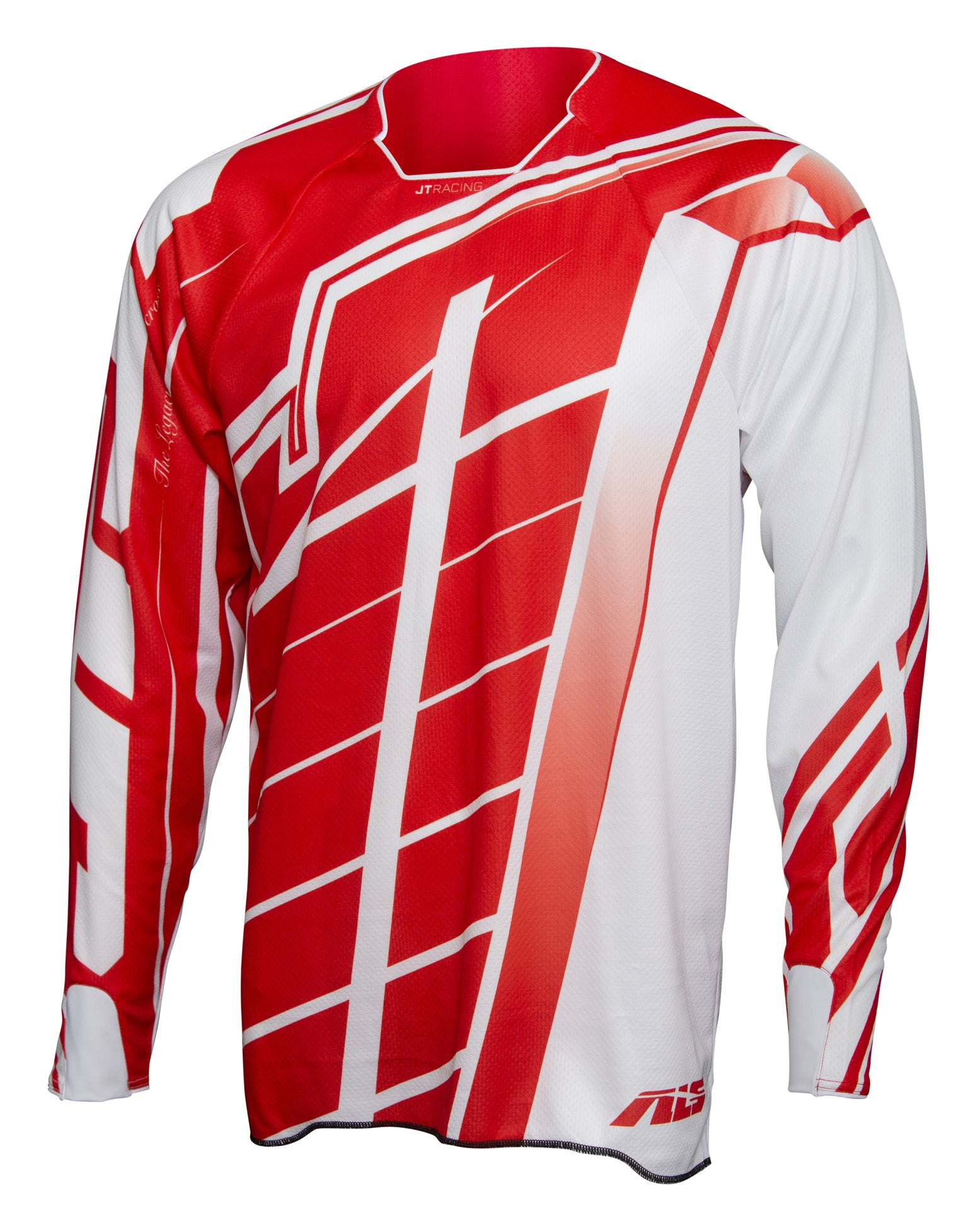 JT Racing-USA Hyperlite Breaker Jersey, Red/White