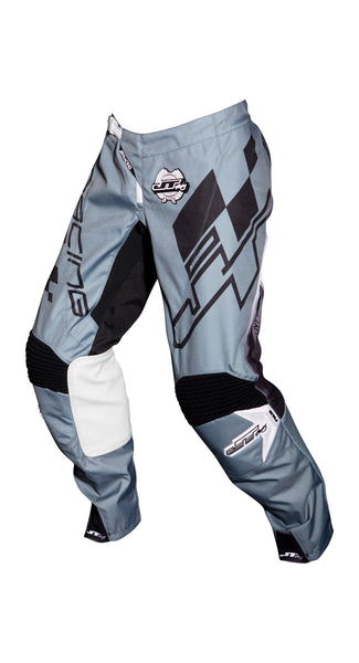 JT RACING USA-2018 Hyperlite Checker Pants, Black/Grey/White