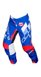 JT RACING USA Hyperlite Checker Pants, Red/White/Blue
