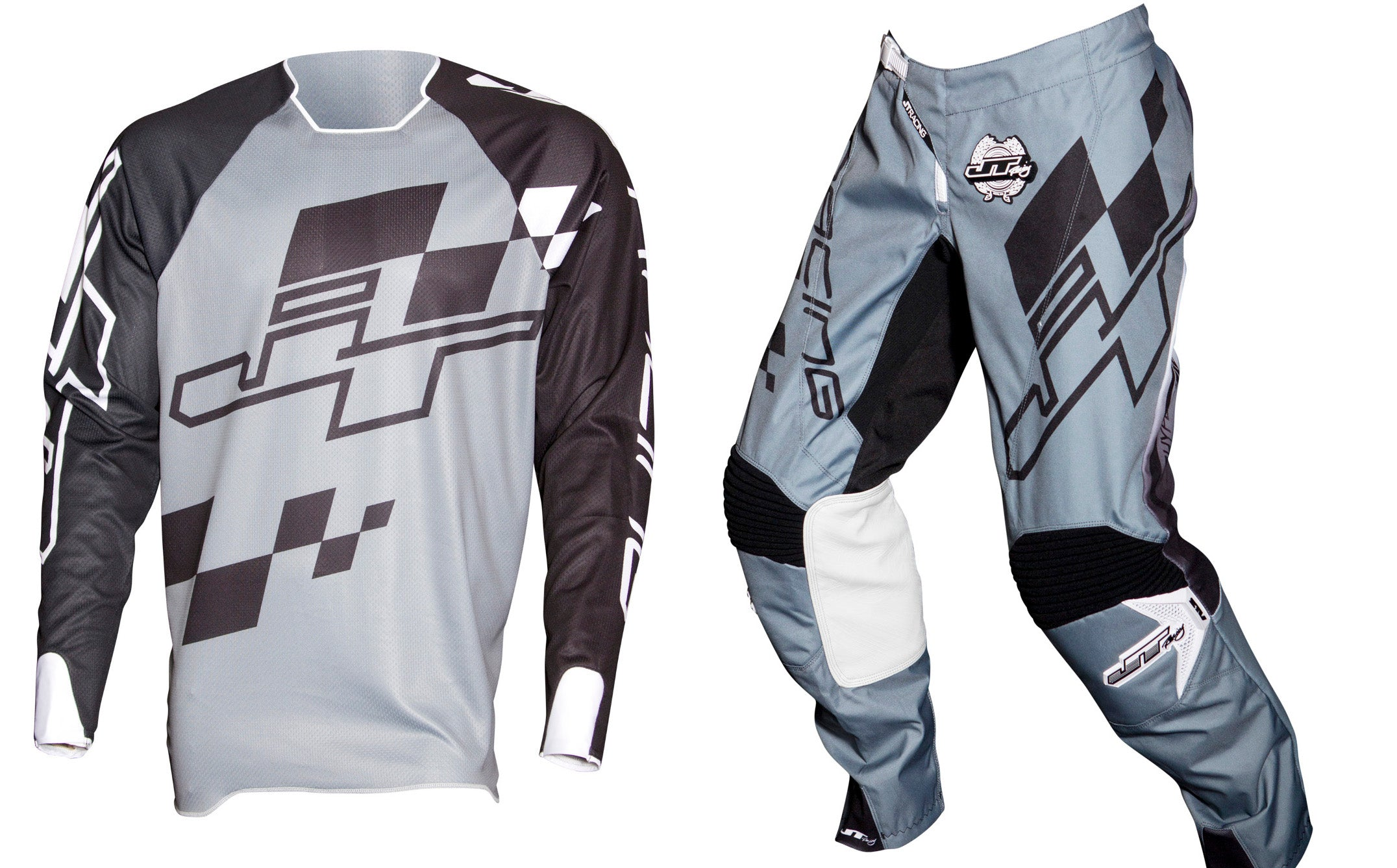 JT RACING USA-2018 Flex-ExBox Jersey, Grey/Black
