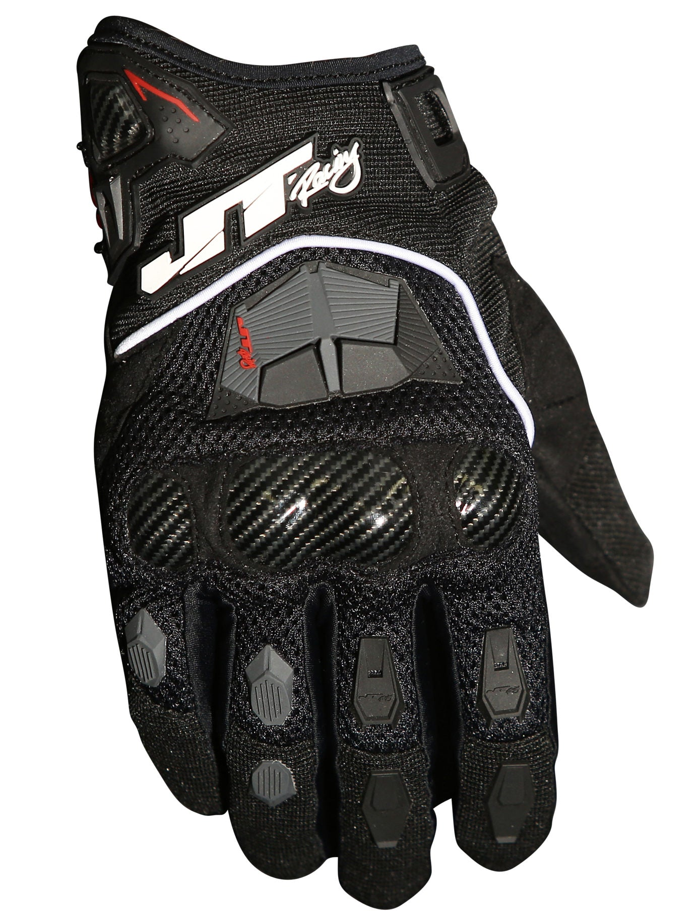 JT Racing USA-Enduro Gloves, Black