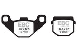 Kawasaki/Yamaha/Suzuki/Can-Am EBC Series Carbon Brake Pads #FA83TT