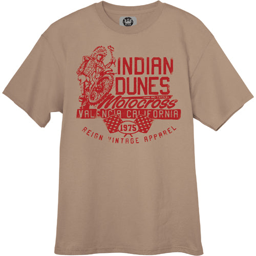 Reign VMX, Vintage Style Indian Dunes T-Shirts