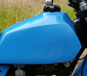 Clarke Mfg Fuel Tank Yamaha IT175 (76-77) Stock (IT Blue)  # 11400-11
