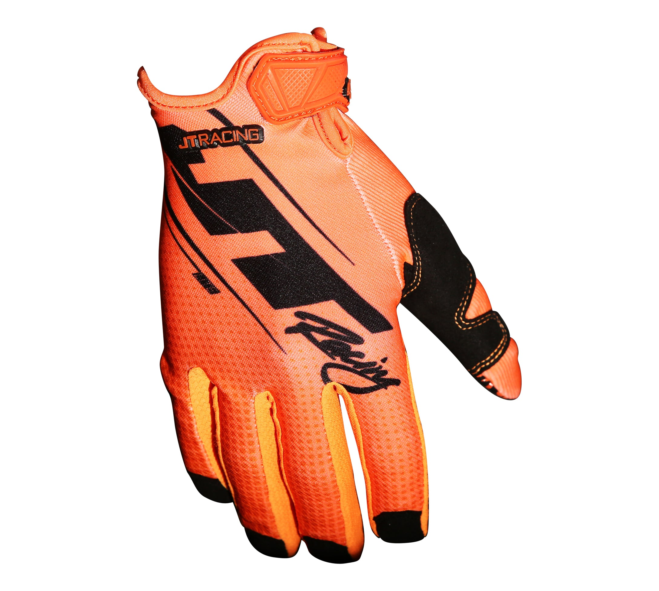 JT Racing USA- Lite16-Slasher Gloves Orange/Black