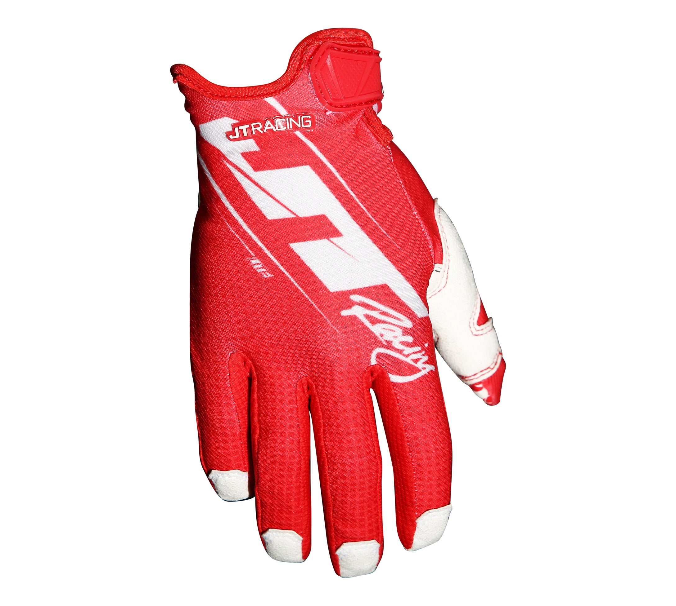 JT Racing Lite16- Slasher Glove, Red