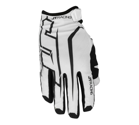 JT Racing USA- Lite Turbo Glove, Grey/Black