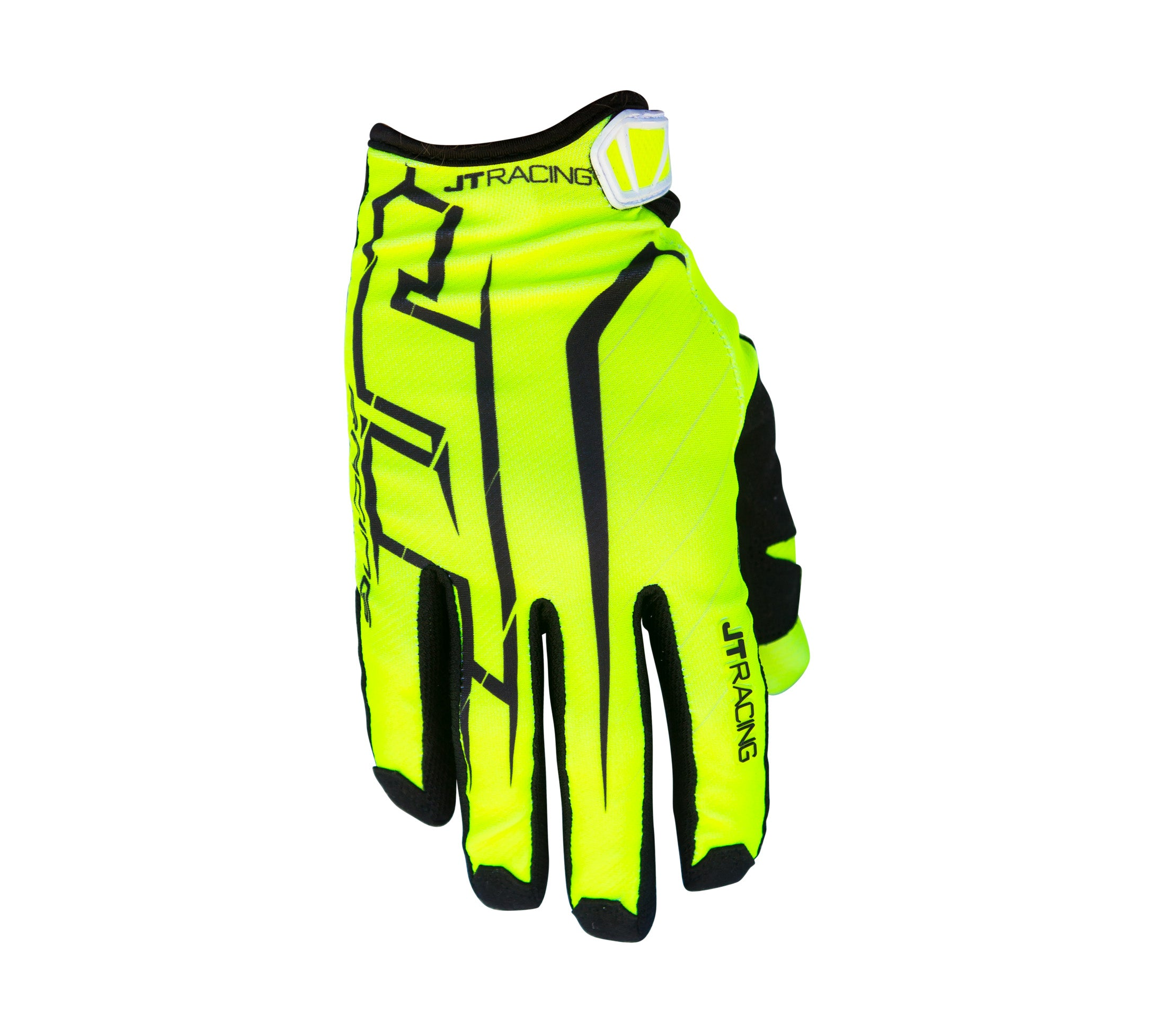 JT Racing USA-Lite Turbo Glove, Yellow/Black