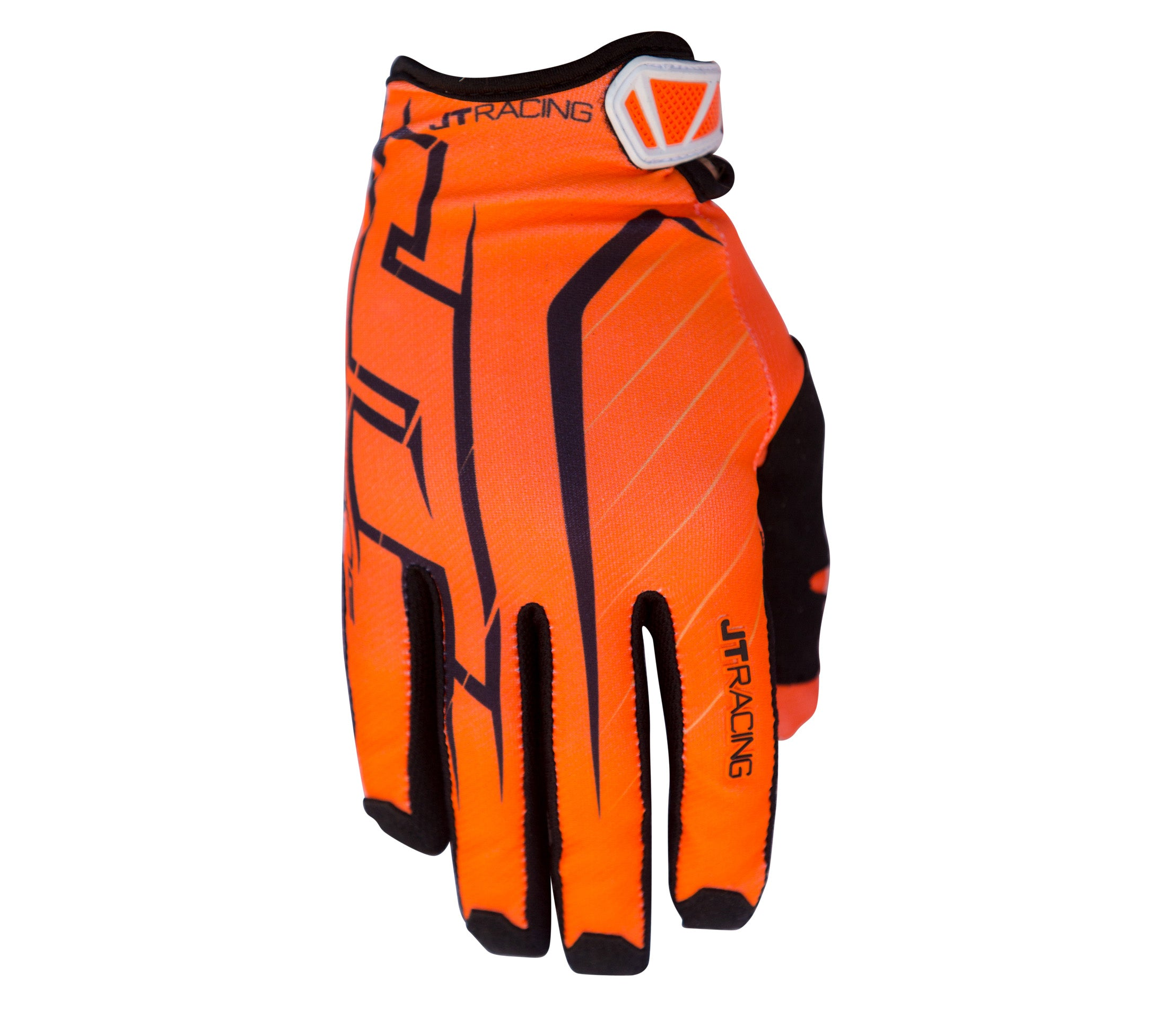 JT Racing USA-Lite Turbo Glove, Orange/Black
