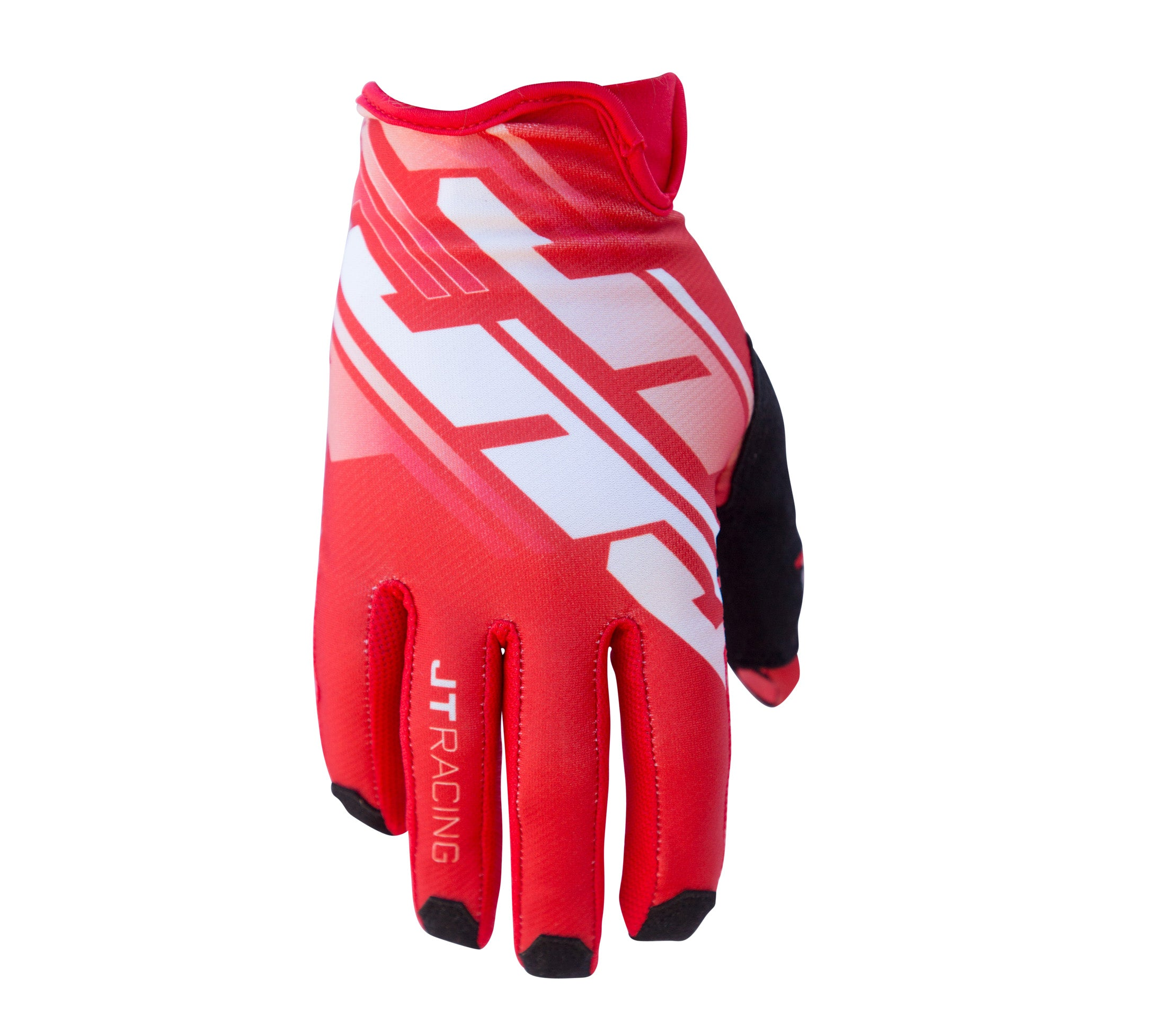 JT Racing USA-Pro-Fit Tracker, Glove, Red/White