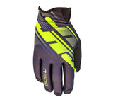 JT Racing USA-Pro-Fit Tracker, Glove, Black/Yellow