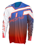 JT Racing USA Hyperlite Revert Jersey, Blue/Red/White
