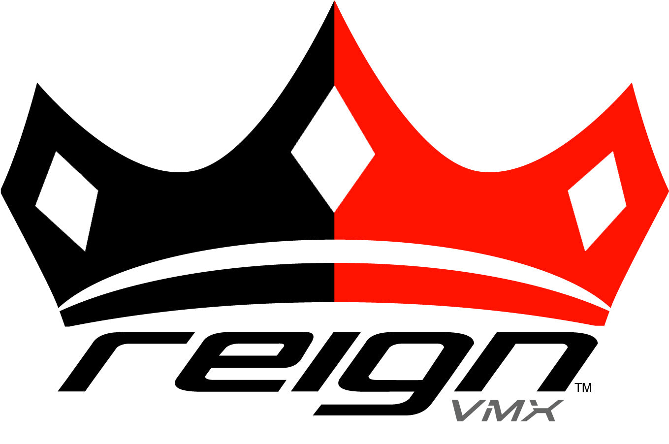 Reign VMX, Easel Blank Motocross Jersey, Red