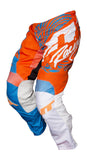 JT RACING USA-2017 Flex-Victory Pants, Cyan/Orange
