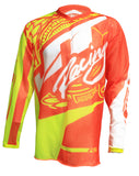 JT RACING USA-2017 Flex-Victory Jersey, Neon Yellow/Orange (Vented)