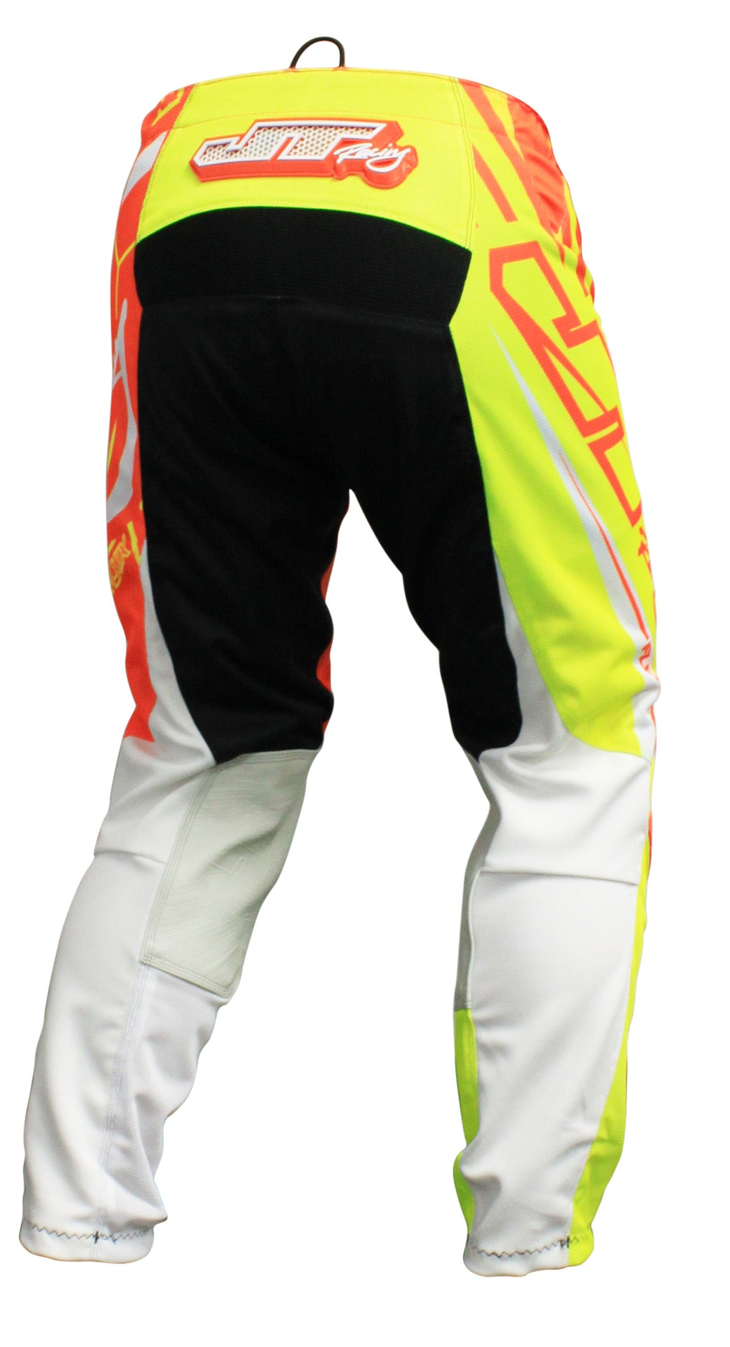 JT RACING USA-2017 Flex-Victory Pants, Neon Yellow/Orange (Vented)