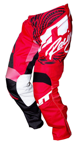 JT RACING USA Flex-Victory Pants, Red/Black