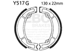 EBC Brake Set YZ125 K/L/N/S 83-86 Rear; IT200L 84 Front & Rear #Y517G