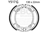 EBC Brake Set YZ125 K/L/N/S 83-86 Rear; IT200L 84 Front & Rear #Y517WG