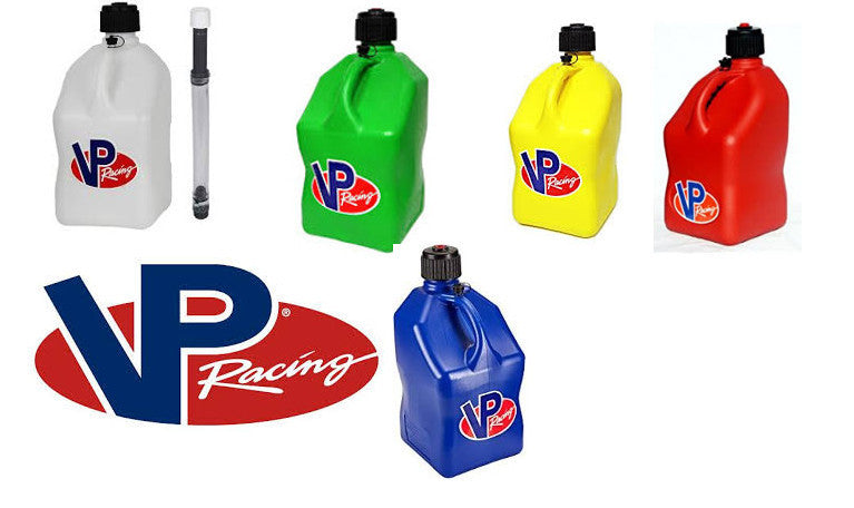 VP Racing Fuel Jug 20 Lts, Square, with Fuel Hose